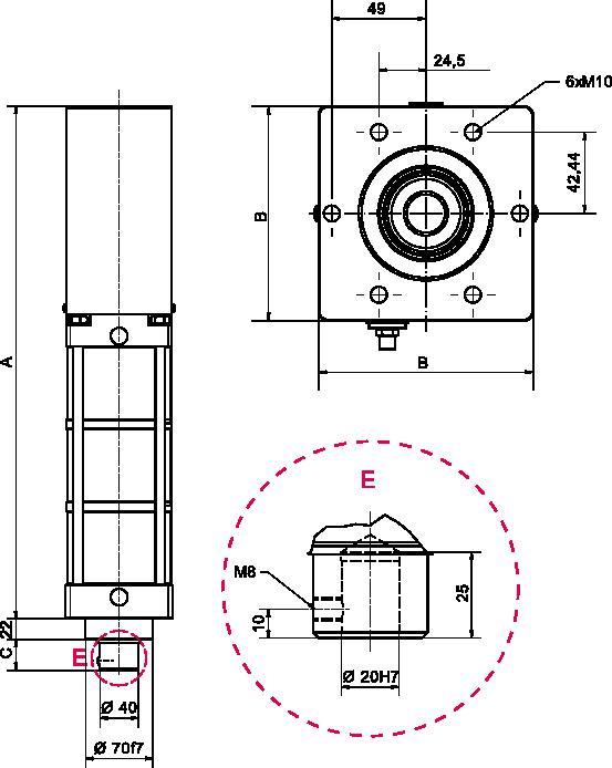 Схема DAF